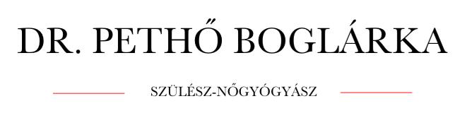 Dr. Pethő Boglárka